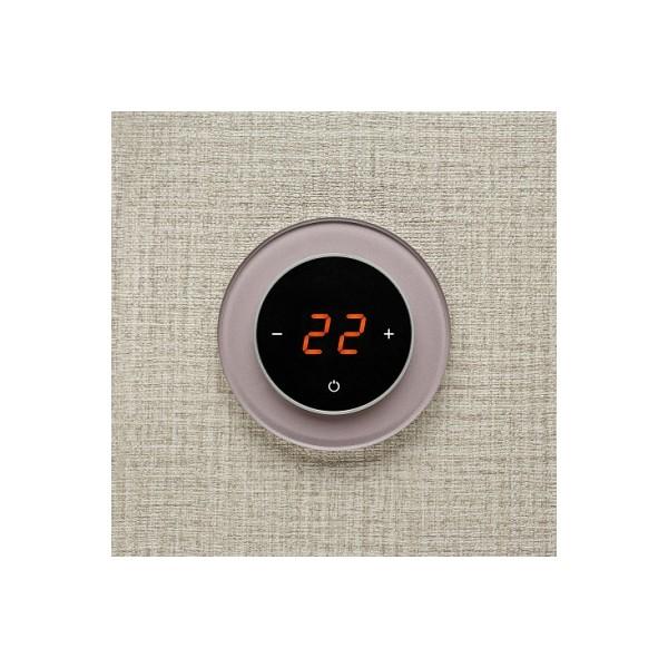 AURA RONDA 0627 TAUPE METAL - сенсорный терморегулятор для теплого пола