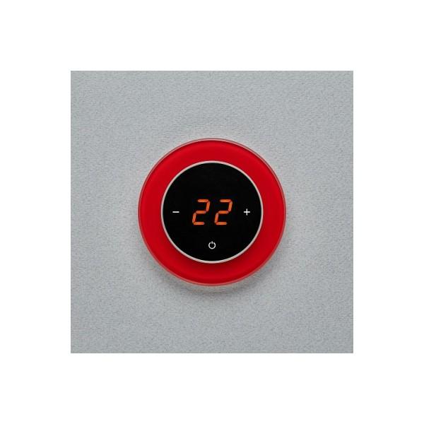 AURA RONDA 1586 RED LUMINOUS - сенсорный терморегулятор для теплого пола