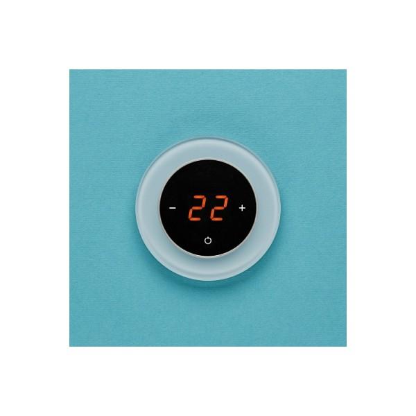 AURA RONDA 1604 GREEN PASTEL - сенсорный терморегулятор для теплого пола