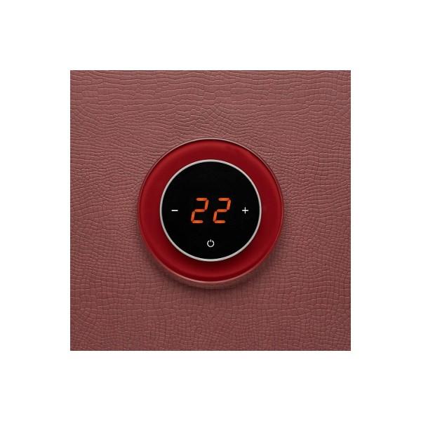 AURA RONDA 3004 RED DARK - сенсорный терморегулятор для теплого пола