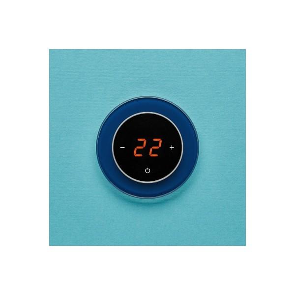 AURA RONDA 5001 BLUE PETROL - сенсорный терморегулятор для теплого пола