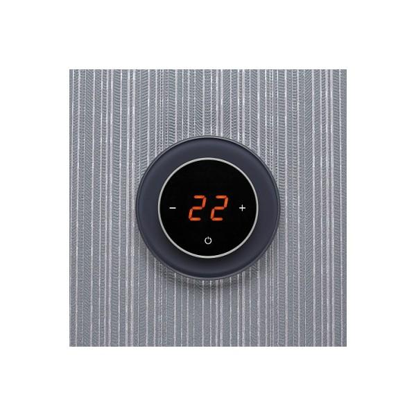 AURA RONDA 7016 ANTHRACITE AUTHENTIC - сенсорный терморегулятор для теплого пола