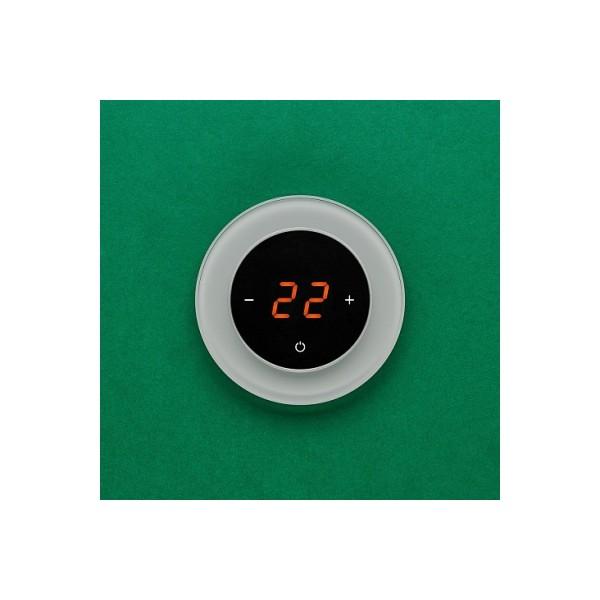 AURA RONDA 7035 GRAY CLASSIC - сенсорный терморегулятор для теплого пола