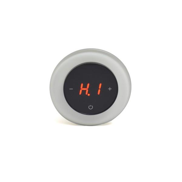 AURA RONDA 9003 WHITE PURE - сенсорный терморегулятор для теплого пола