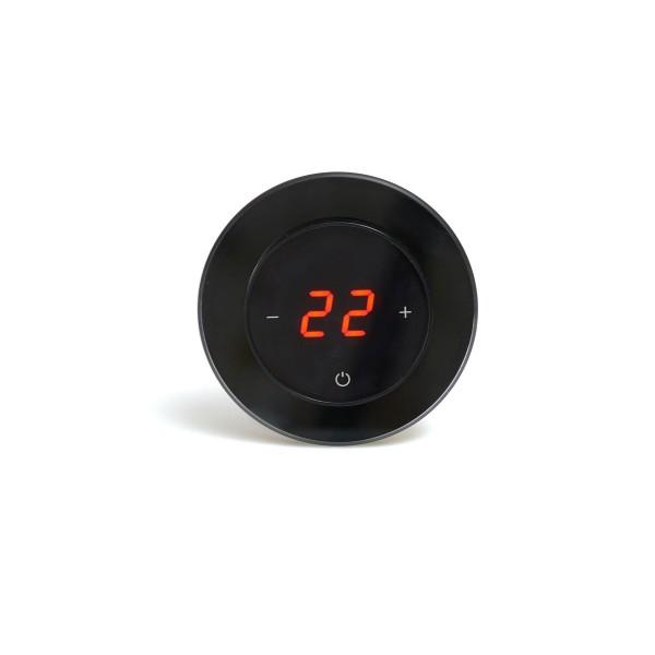 AURA RONDA 9005 BLACK CLASSIC - сенсорный терморегулятор для теплого пола