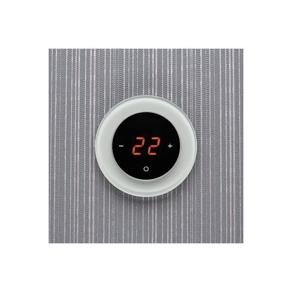 AURA RONDA 9010 WHITE SOFT - сенсорный терморегулятор для теплого пола
