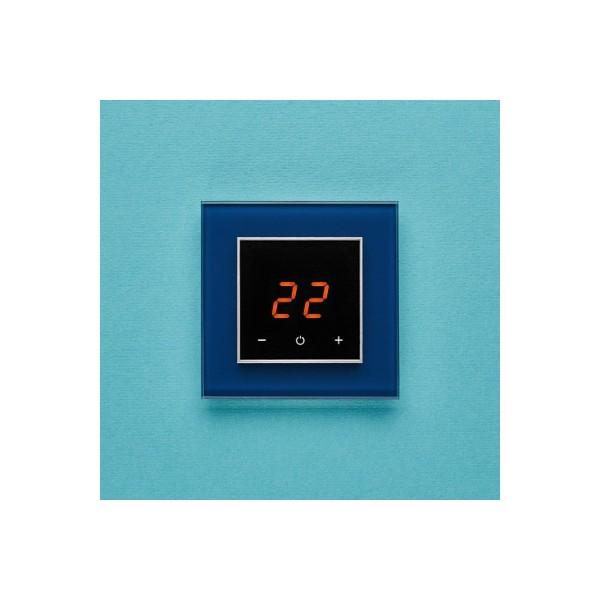 AURA ORTO 5001 BLUE PETROL - сенсорный терморегулятор для теплого пола