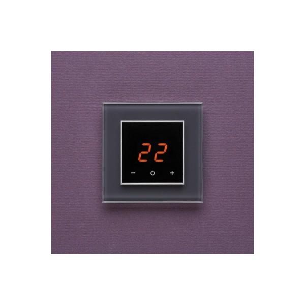 AURA ORTO 7016 ANTHRACITE AUTHENTIC - сенсорный терморегулятор для теплого пола