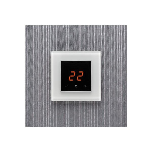 AURA ORTO 9003 WHITE PURE - сенсорный терморегулятор для теплого пола