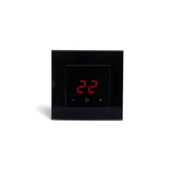AURA ORTO 9005 BLACK CLASSIC - сенсорный терморегулятор для теплого пола