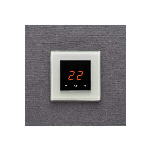 AURA ORTO 9010 WHITE SOFT - сенсорный терморегулятор для теплого пола